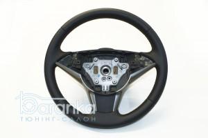 BMW 5 serie/E60/E61 - 70$: німецька текстурна шкіра + вставки перфорації