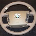 кожаный руль на BMW E65