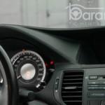 Honda Accord перетяжка передньої панелі шкірою
