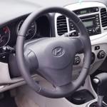 Hyundai Accent перетяжка кожей дешево