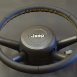 Jeep Wrangler кожаная оплётка на руль Киев
