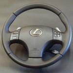 Lexus IS 250 перешить кожаный руль Киев