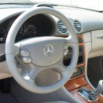 пом'якшений руль на Mercedes-Benz CLK-Class