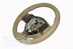 Nissan Note/Tiida - 80$: австрійська гладка шкіра + вставки перфорації