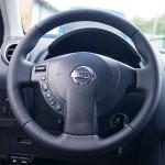 Nissan Qashqai перетяжка перфорированной кожей