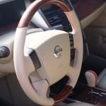 Nissan Teana обшивка шкірою Київ