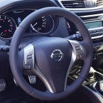 Кожаный руль на Nissan X-Trail Киев