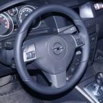 Opel Astra перетяжка кожей