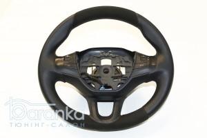 Peugeot 2008/208/308 GT - 1550 грн: австрійська гладка шкіра + вставки перфорації та алькантари