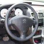 Peugeot 307 перетяжка руля наппа