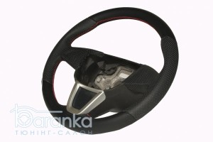 Seat Ibiza/Leon/Altea - 1550 грн: австрійська гладка шкіра + вставки перфорації