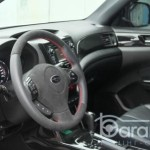Subaru Forester перетяжка салону шкірою