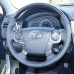 Toyota Camry кожаный руль