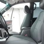 Toyota Prado перетяжка сидінь шкірою