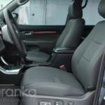 Toyota Prado пошив сидінь