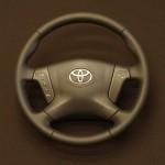 Toyoyta Avensis перетяжка кожей недорого