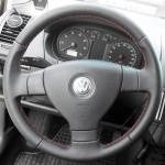 Volkswagen Golf 5 перетяжка руля наппой + перфорация