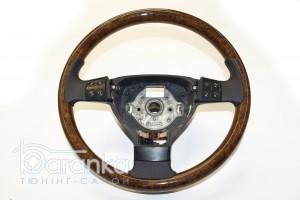 Volkswagen Golf 5/Passat B6: дерев'яний обод