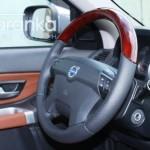 Volvo деревянные вставки на руль