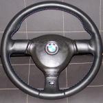 перетяжка BMW E30 кожей