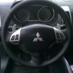 обшивка руля кожей Mitsubishi Outlander XL